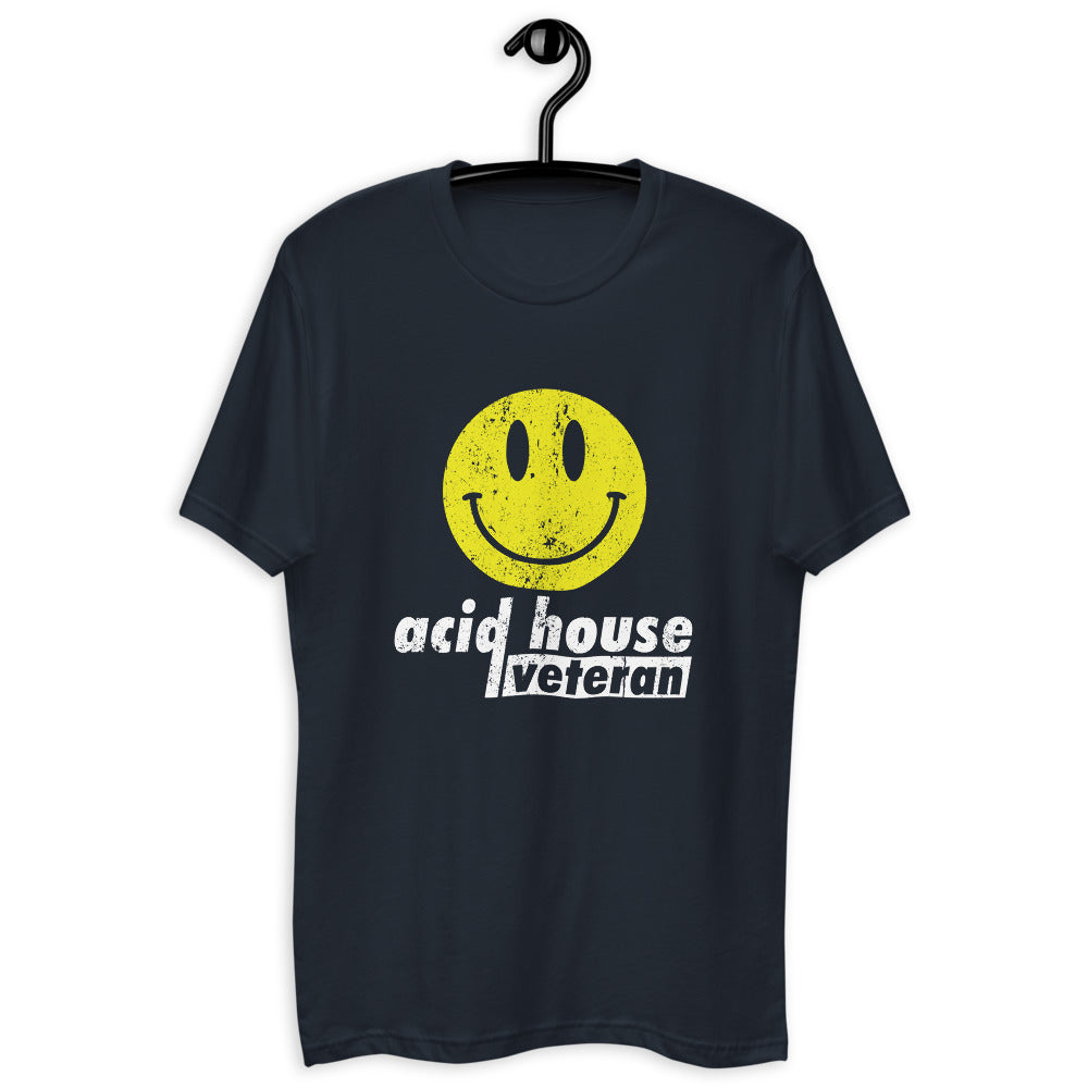 Men's Fitted Tee | ''Acid House Veteran''