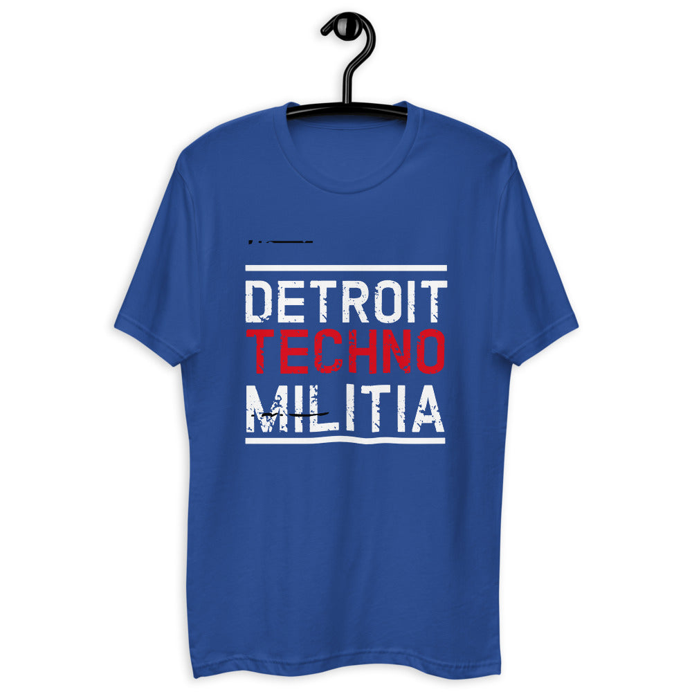 Men's Fitted T-Shirt | ''Detroit Techno Militia''