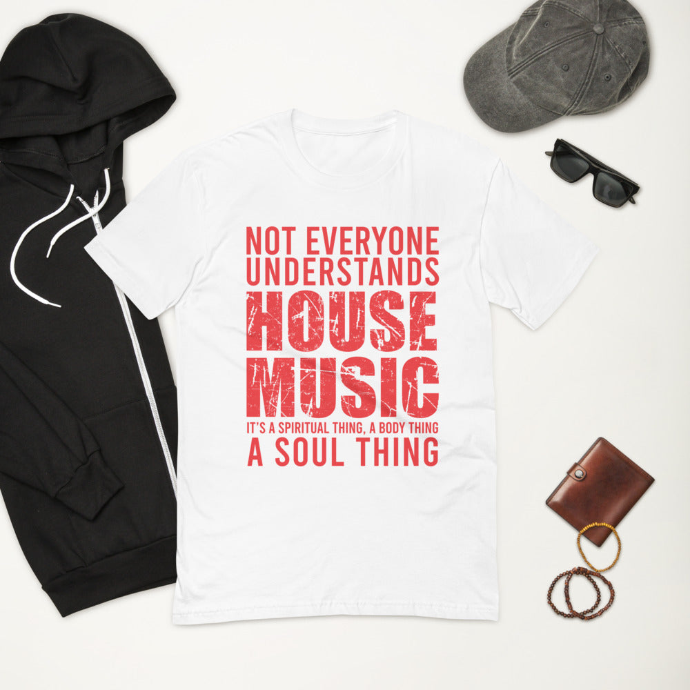 Men's Fitted Tee | ''House Music Lover''