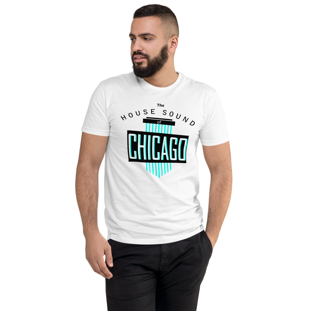 Men's Fitted Tee | ''House Sound of Chicago''