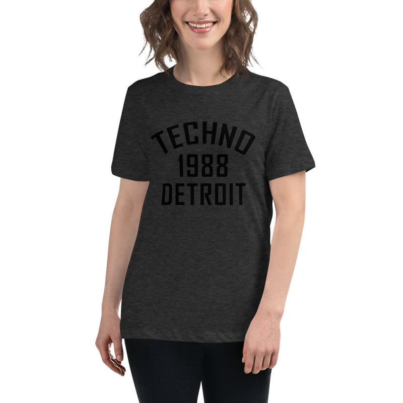 Ladie's Relaxed Fit Tee | ''Detroit Techno 1988''