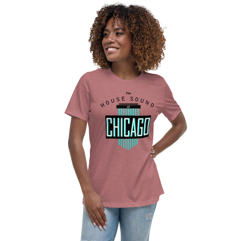 Ladie's Relaxed Fit Tee | ''House Sound of Chicago''