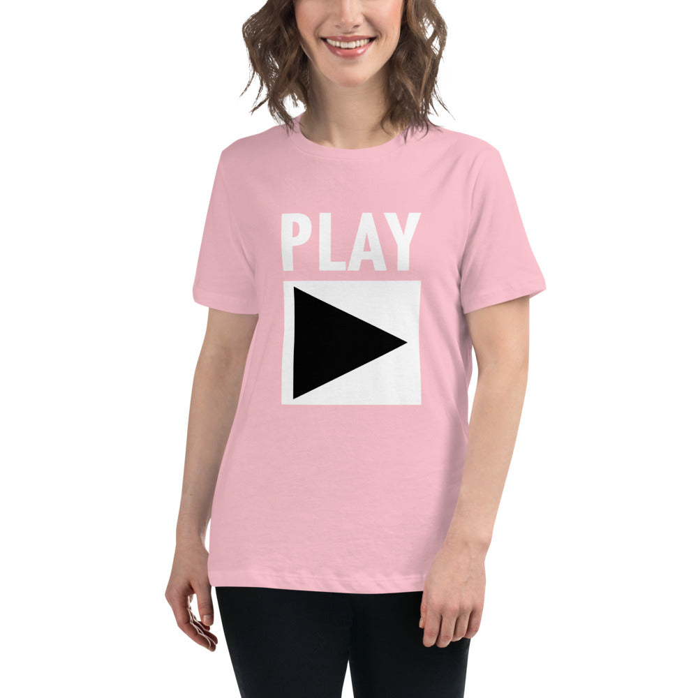 Ladie's Relaxed Fit Tee | ''PLAY''