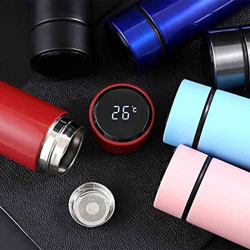 TEMPERATURE DISPLAY INDICATOR BOTTLES (Stainless Steel Hot & Cold Flask Bottle)