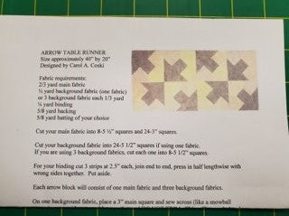 Arrow Table Runner p11