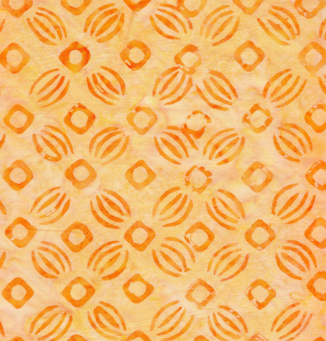 Stylized Flower Design / Peach ba2258