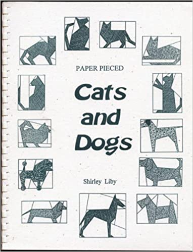 Paper Pieced Cats And Dogs b10