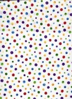 The Very Hungry Caterpillar Dots / White cr870