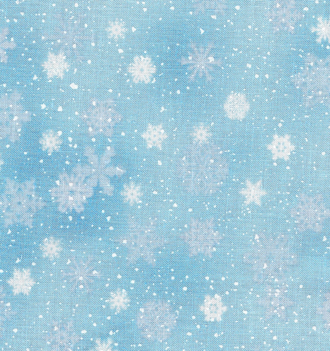Snowflakes / Powder Blue ho519
