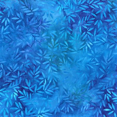 Bamboo leaves/blue