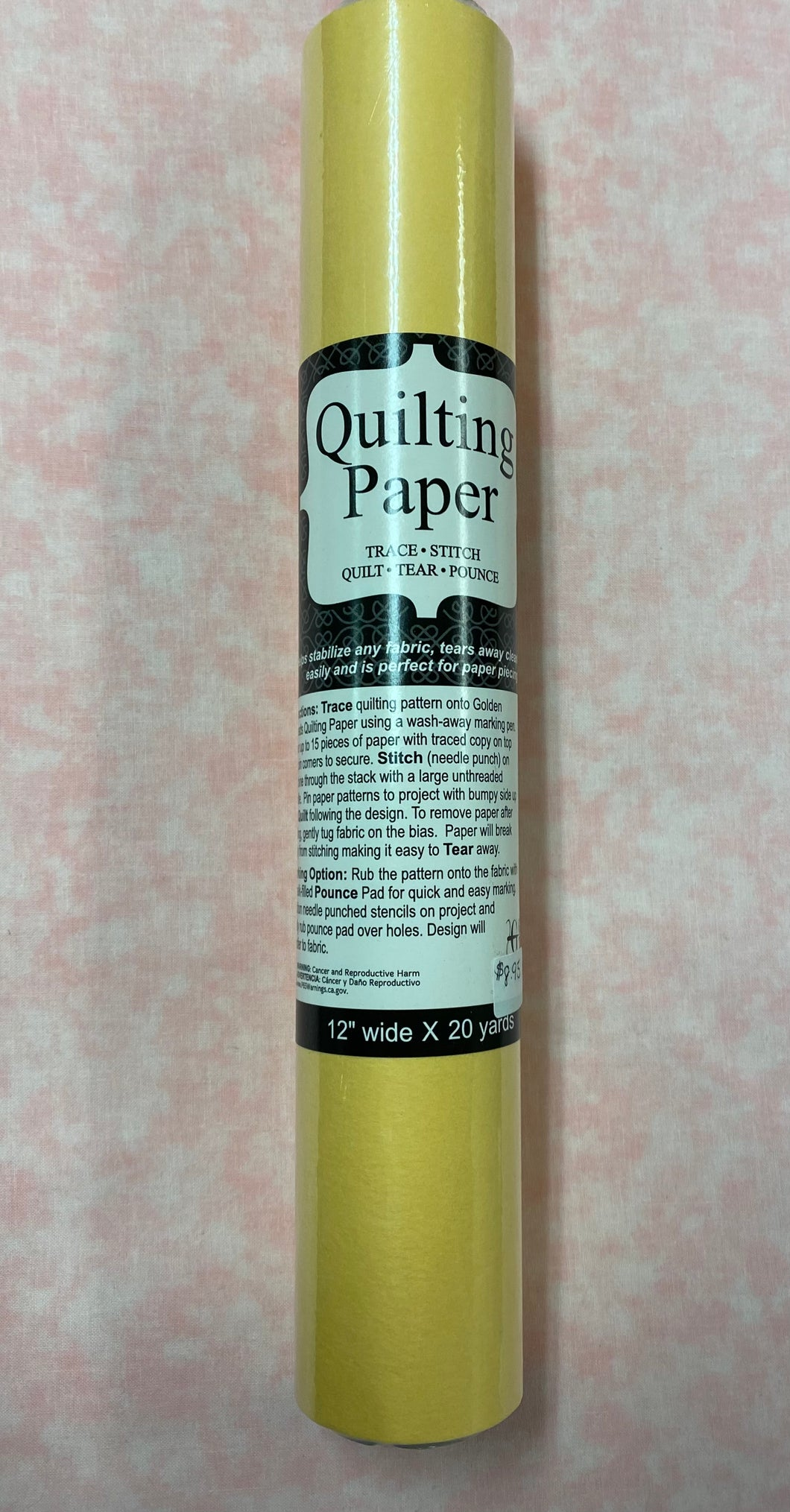 Golden Threads Quilting Paper n12