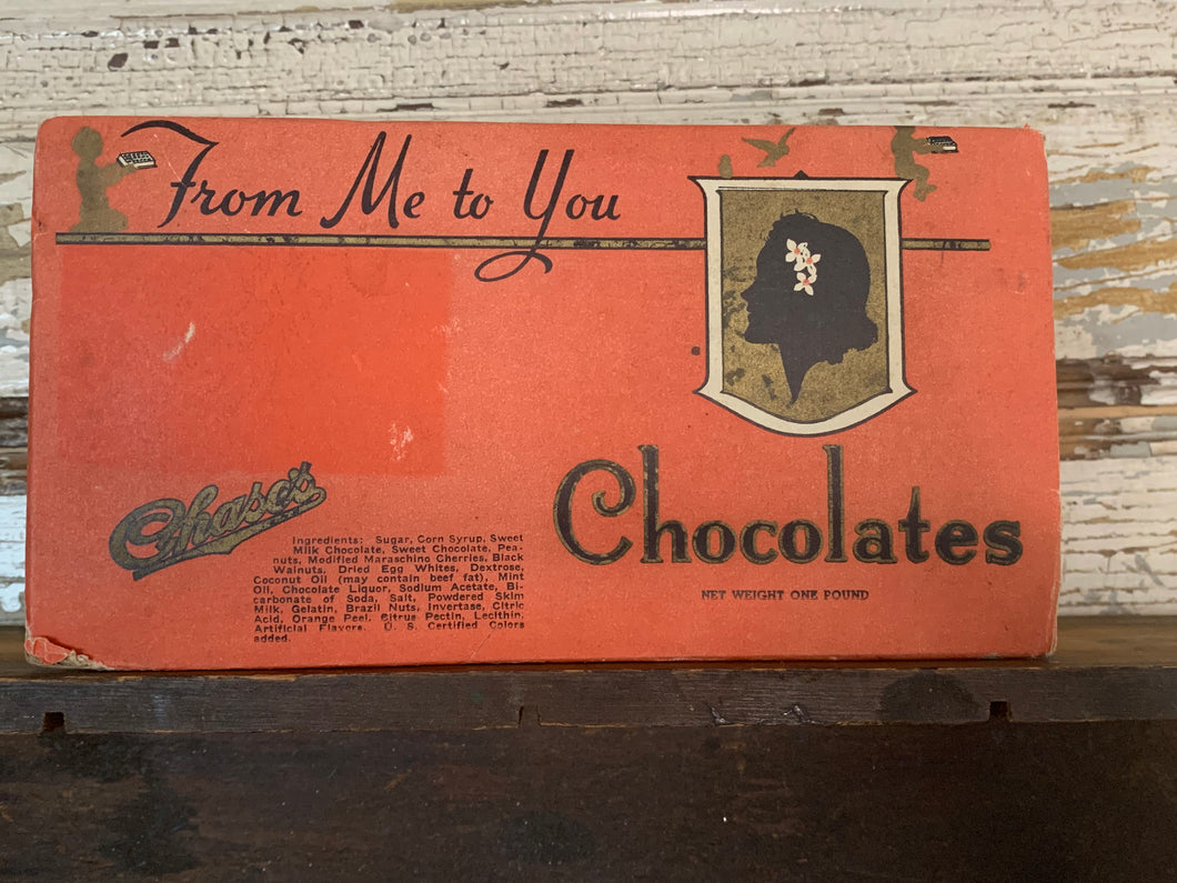 Vintage Chocolates Box