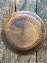 Load image into Gallery viewer, Carved Wood Plate