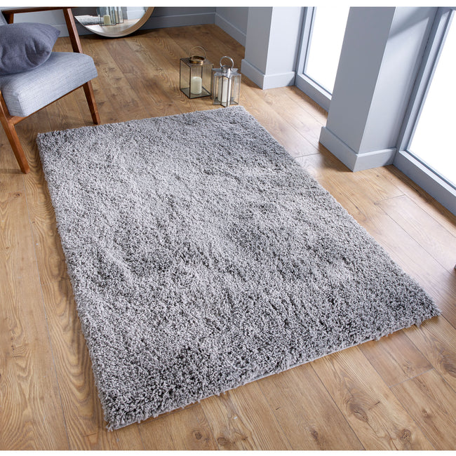 Large image of Serene Grey Rug 200x285 (Extra Large)