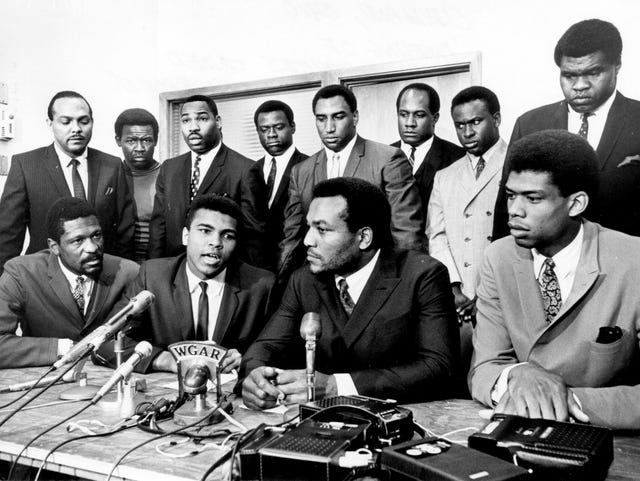 Muhammad Ali and Jim Brown: Lacrosse Black Lives Matter