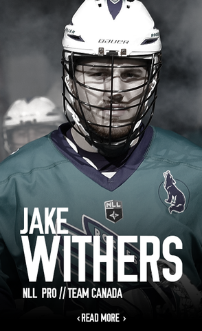 Jake Withers Pro Faceoff Canada Lacrosse Sponsor