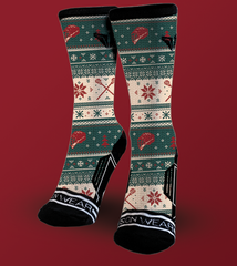 Holiday Lacrosse Socks