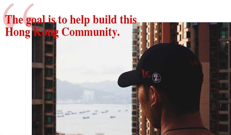 """the goal is to build a community."""