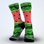 Watermelon socks Fruit print graphic