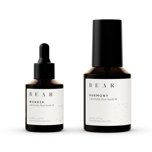 bear radiance duet oil and face mist