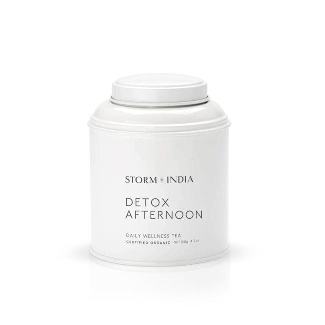 storm + india detox afternoon tea