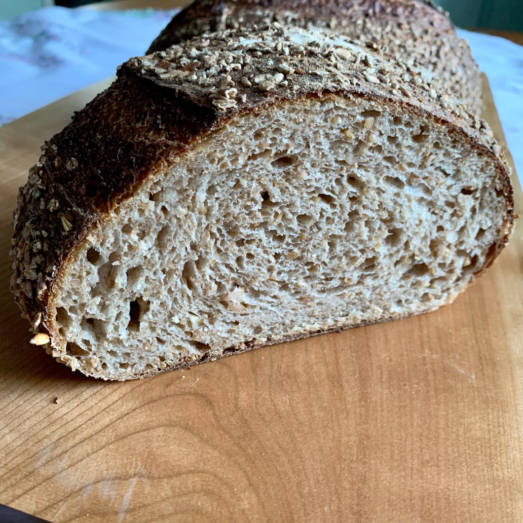 Sturgeon River Cereal Sourdough Loaf