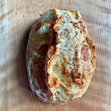 Load image into Gallery viewer, White Cheddar Sourdough Loaf