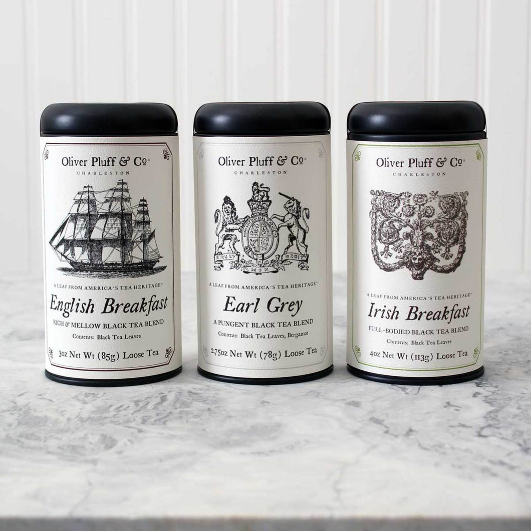 Oliver Pluff & Co. British Heritage Black Tea Gift Set