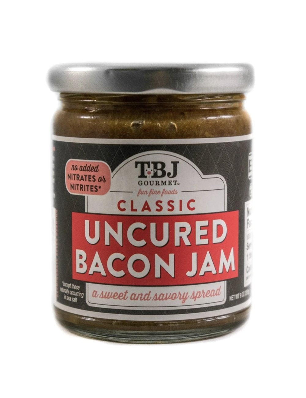 TBJ Uncured Bacon Jam 14 oz