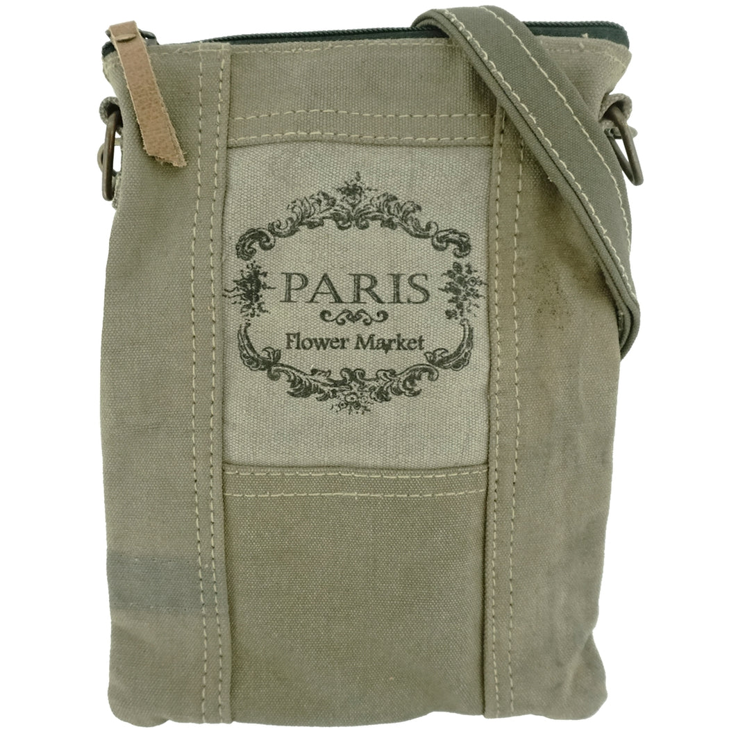 Paris Flower Market Crossbody