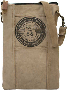 Route 66 Recycle Tent Crossbody