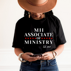 Associate of Ministry Established 2021 Jersey Short Sleeve Tee