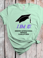 Load image into Gallery viewer, I Did It Class of 2020 Unisex Jersey Short Sleeve Tee