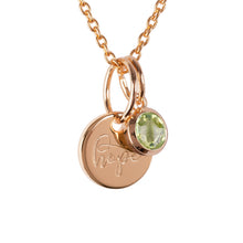 "Load image into Gallery viewer, 18ct Yellow Gold Vermeil ""Hope"" Pendants"