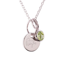 "Load image into Gallery viewer, Sterling Silver ""Hope"" Pendants"