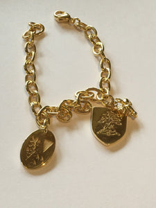 Gold plating Stowe bracelet
