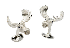 Deakin & Francis Moose Head Cufflinks
