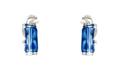 Deakin & Francis Blue Golf Bag Cufflinks