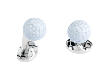 Deakin & Francis Golf Ball Cufflinks