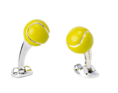 Deakin & Francis Tennis Ball Cufflinks
