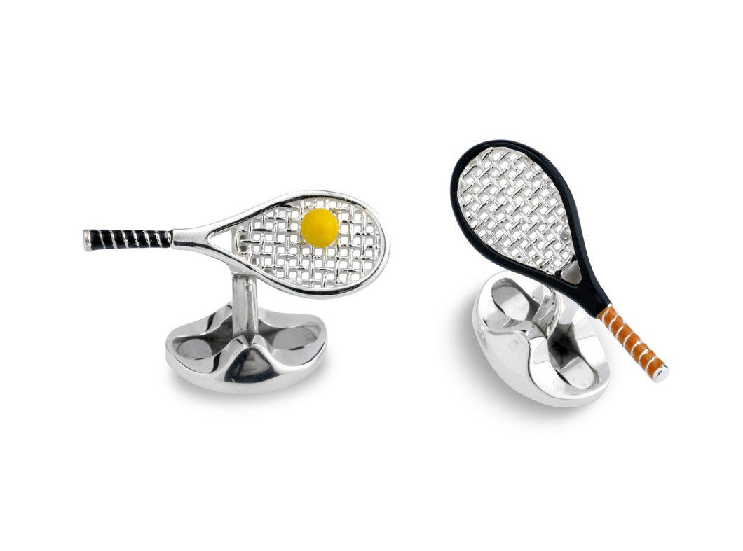 Deakin & Francis Tennis Racket Cufflinks