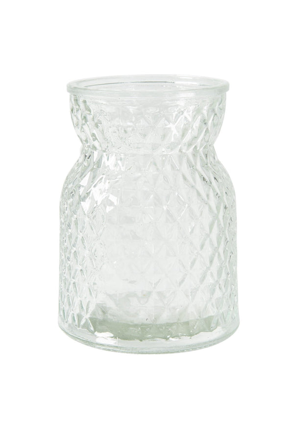 Flowers by Cos Vase Rombe D10x14 glas