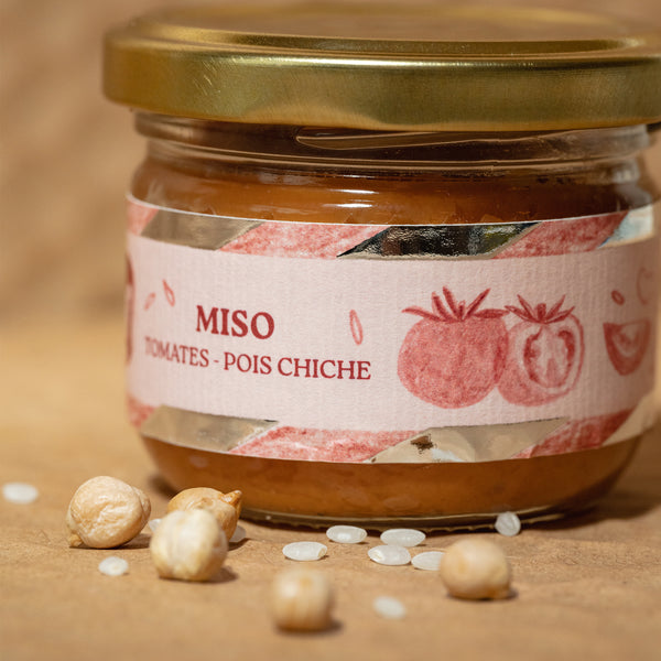 Miso Tomate - Pois Chiches