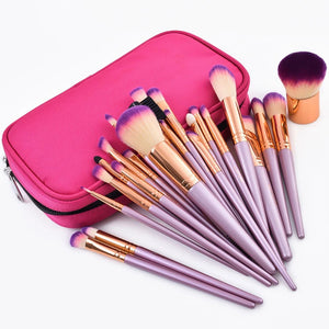 Gaia Luxe™ - 26pcs Gold Makeup Brush Set