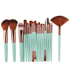 18Pcs Makeup Brushes Tool Set Cosmetic