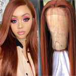 Load image into Gallery viewer, 13x4 Lace Front Human Hair Wigs Brazilian Straight- Blond