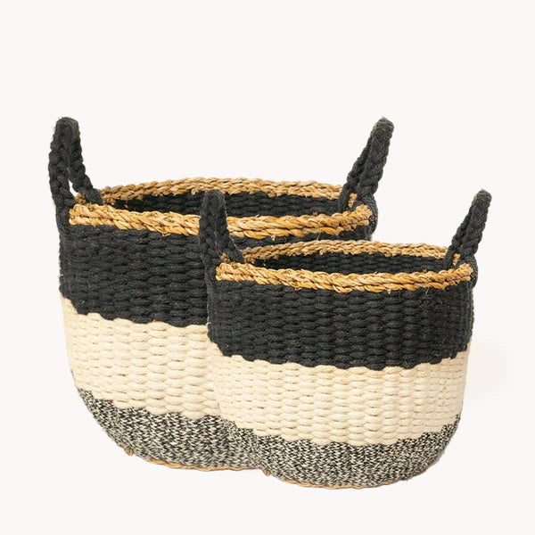 Ula Stripe Basket