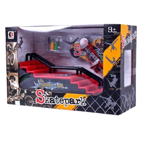 Packaging Ramp Slide Skate Vis