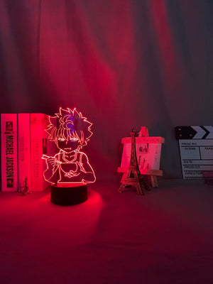 red Hunter X Hunter Killua 3D Led Lamp