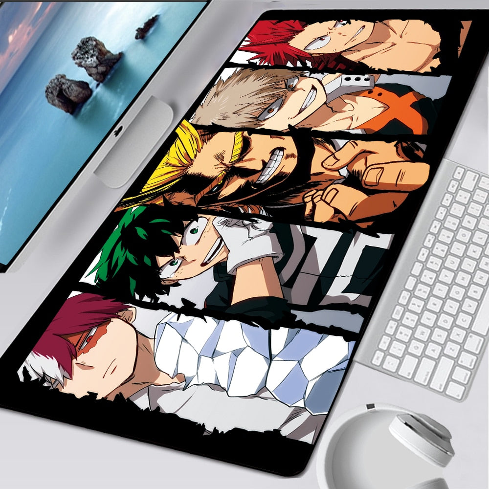 XL my hero academia characters mouse pad